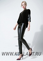 Black russian leggings