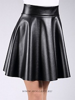 MINI SKIRT leather 01