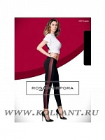 RP Брюки-леггинсы LR207F LEGGINGS BANDA LATERALE IN PELLE DONNA SINGOLO