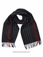 Шарф мужской N.Laroni S096141-07/1-Black/Wine